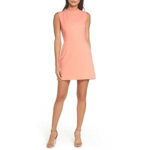 French Connection Sundae Coral Sleeveless Dress